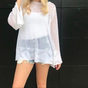 Wildfox White Sweater